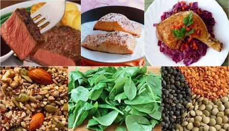Demir içeren yiyecekler nelerdir?